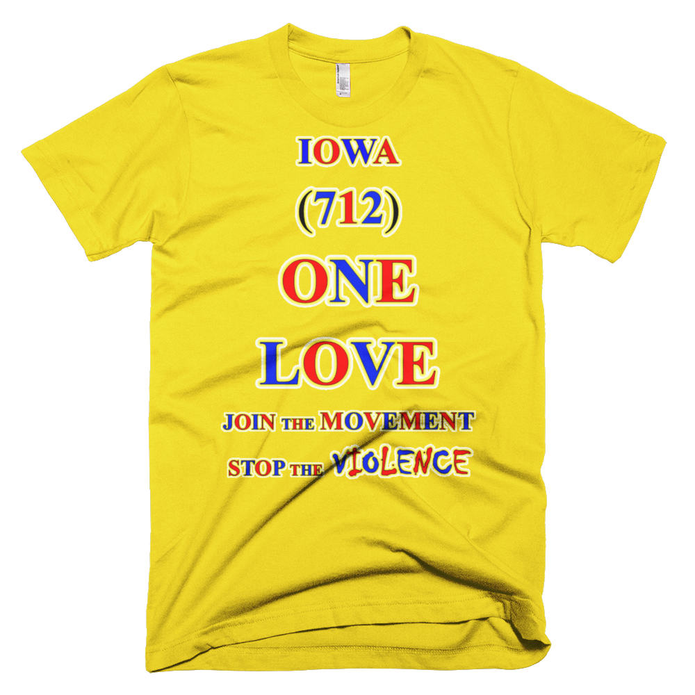 IOWA ... Area Code 712 ... ONE LOVE
