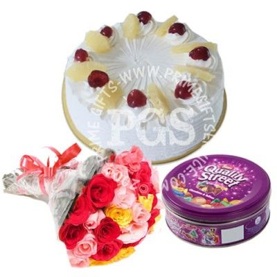 Send Cake Delight Combo To Pakistan
