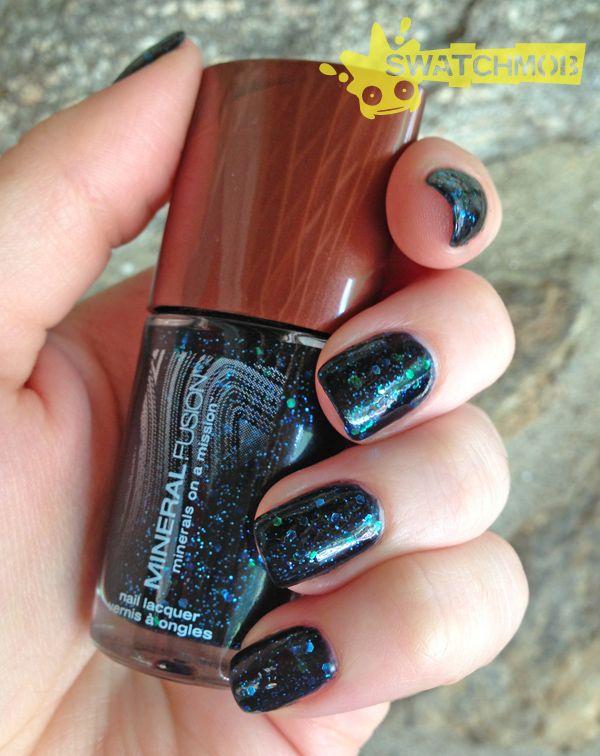 Mineral Fusion Nail Polish in Galaxy | Natural Makeup | Pinterest ...