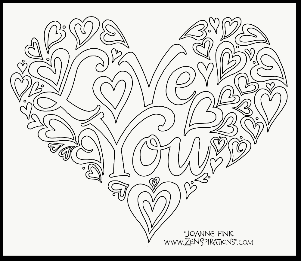 Total WOW | Heart doodle, Blog colors, Coloring pages