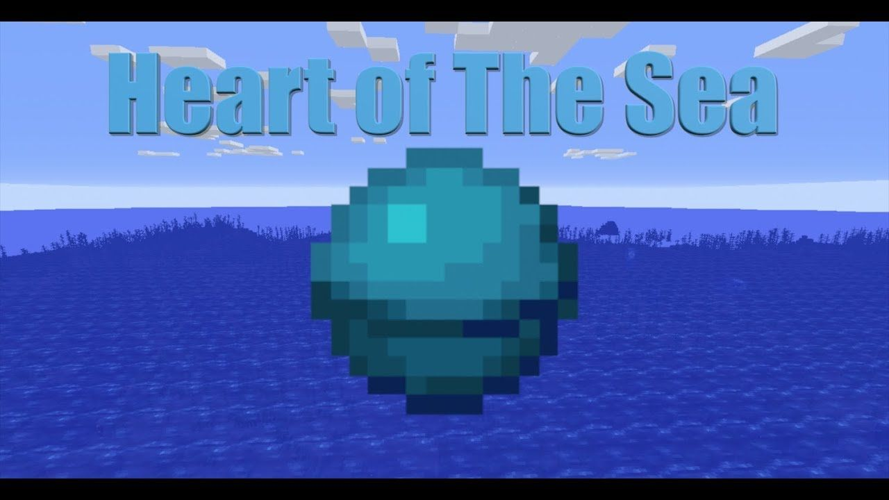 Minecraft Heart of the Sea tutorial without potions or