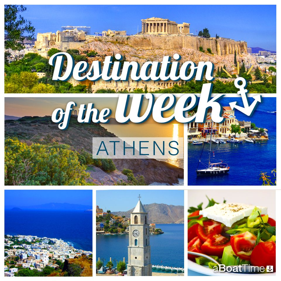 Our destination this week is Athens, the capital city of Greece. A mix of ancient history and modern vibes to discover with a sailing holiday renting a yacht with aBoatTime https://aboattime.com/en/yacht-charter-in-athens