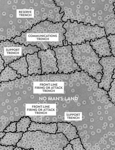 World War 1 Trenches diagram.   World War I   Pinterest   Trench ...