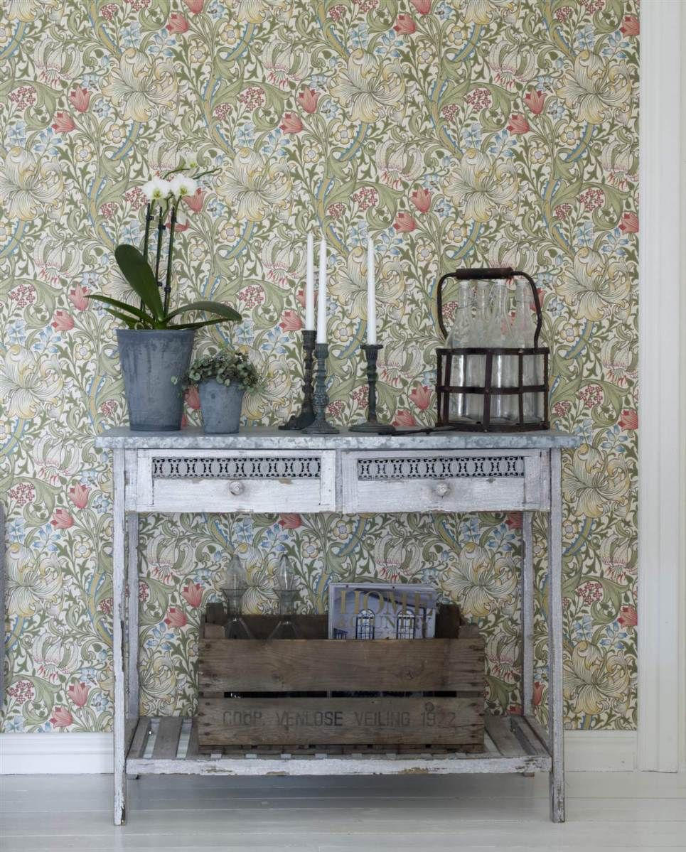 William morris, biscuits and liljor on pinterest