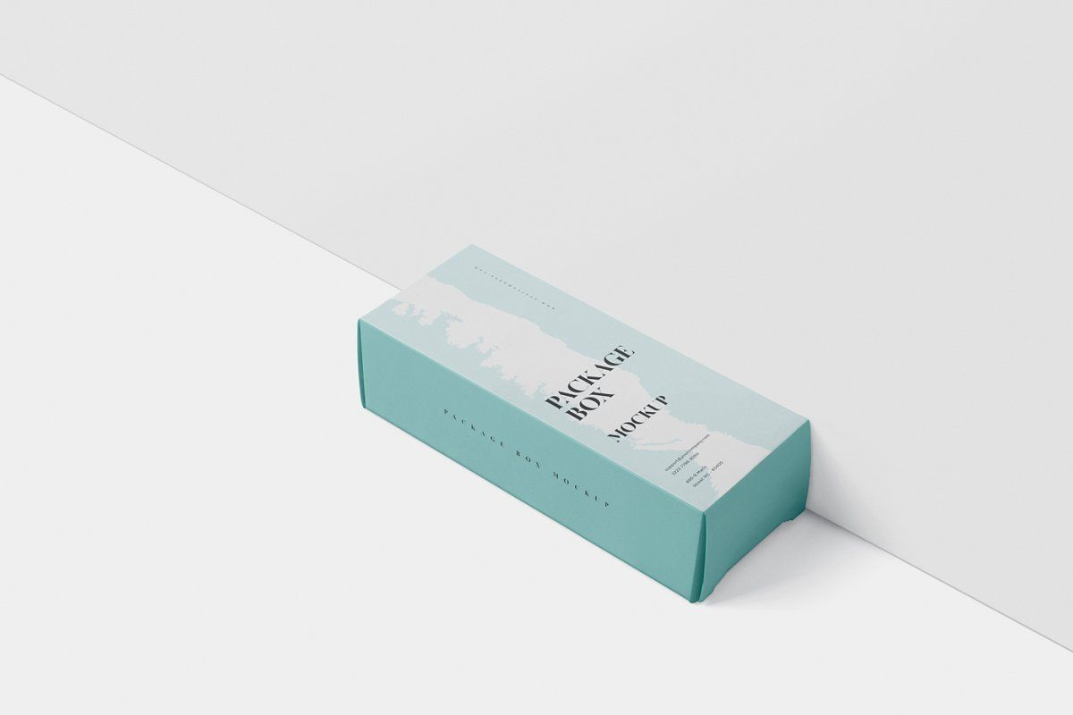 Download Package Box Mock Up High Rectangle Box Packaging Packaging Mockup Branding Design