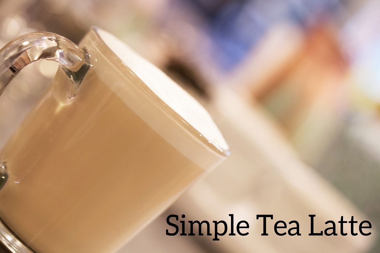 how to make a tea latte