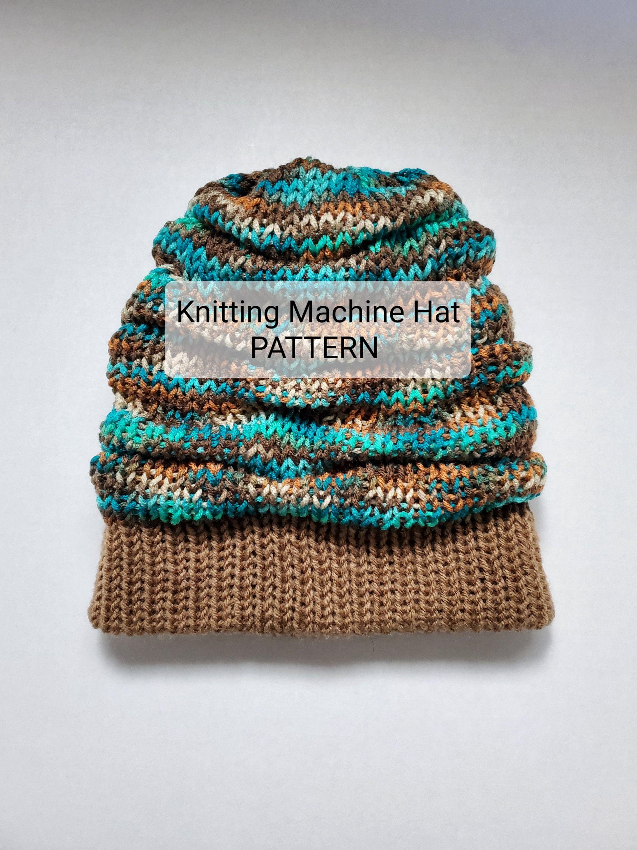 Addi Christmas Tree Cupcake Hat_ PDF machine-knitting ...