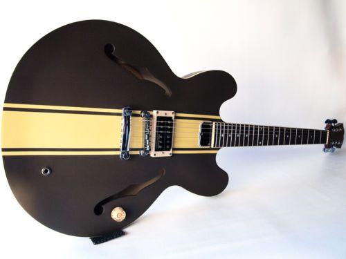 details about epiphone tom delonge signature es 333 semi hollow electric guitar dirty fingers. Black Bedroom Furniture Sets. Home Design Ideas