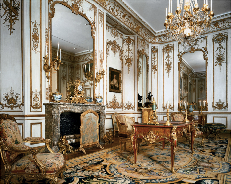 French Baroque Interiors | French Rococo Interior (Htel ...