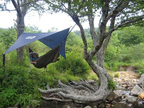 hahaha.. but then again.. why not    Eagles Nest Outfitters Rain Tarp: Freshly Dry