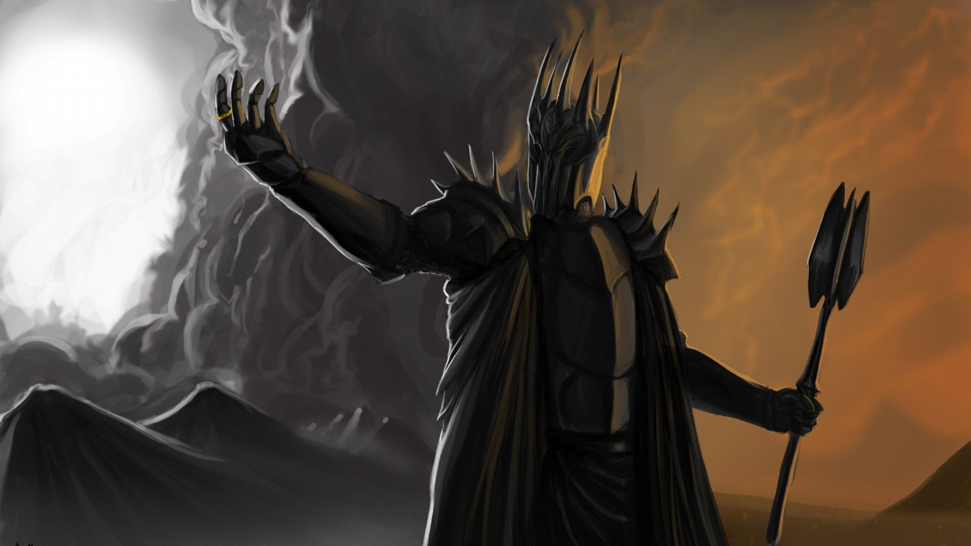 Nazgul On A Dragon Fantasy Artwork Dark Lord Fantasy Artwork Lord Of The Rings