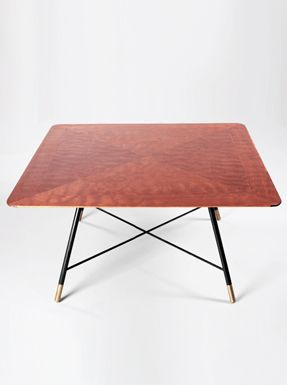 Ico parisi coffee table things table wooden tops e for Sharon goldreich