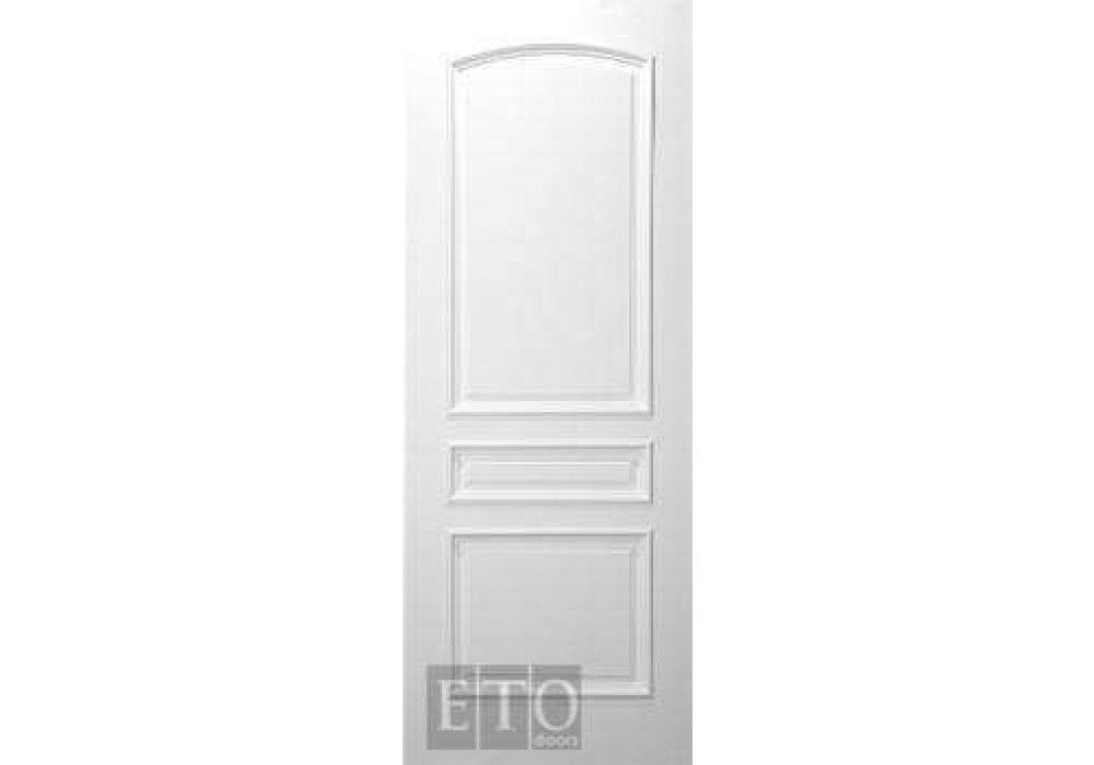 MIL7203   3 Panel Round Top White Primed Interior Door (1 3/4