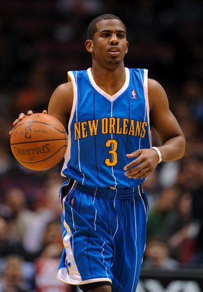 Chris Paul, New Orleans Hornets    top 10 all-time PG   Nba
