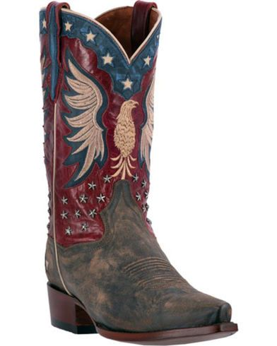ab3ff77f661 Dan Post Patriotic Bountiful Cowboy Boots - Snip Toe | Sheplers ...