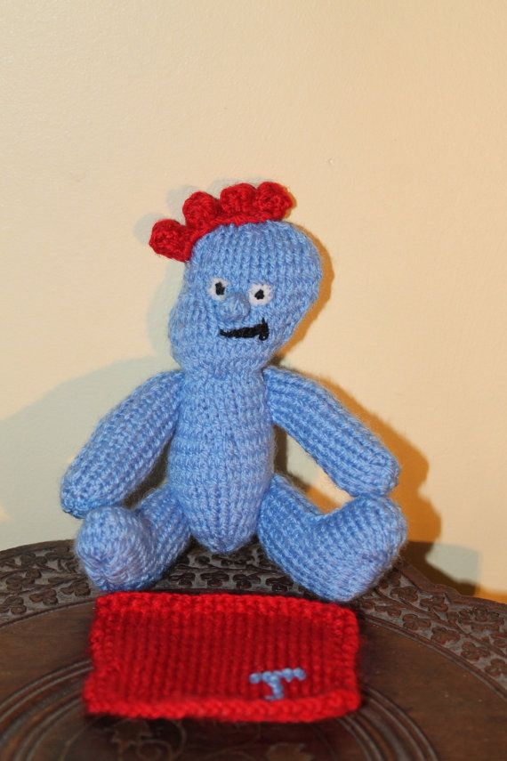 This Is A Cute Custom Made Iggle Piggle From The Childrens Show In