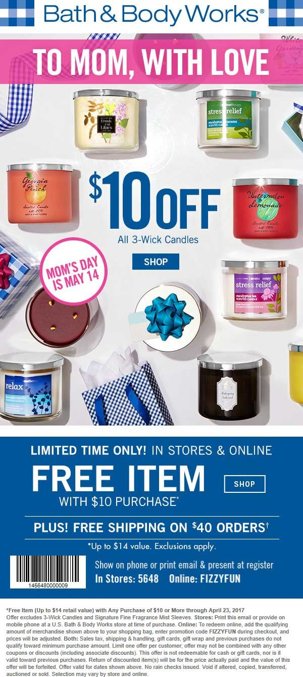 Bath & Body Works 🆓 Coupons & Shopping Deals! Bath and