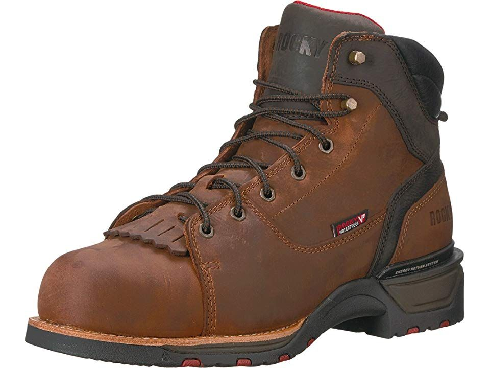 4afe0b1fb6f Rocky 6 TechnoRam Comp Toe WP Men's Work Boots Brown | Products ...