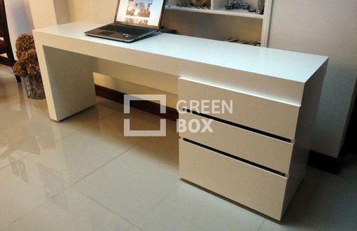 Resultado de imagen para escritorios modernos blancos - Mueble escritorio moderno ...
