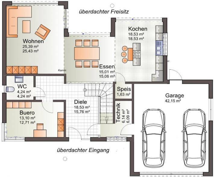 Bauzeichnung Garage ᐅ haus muskau house plans grundrisse häuschen und