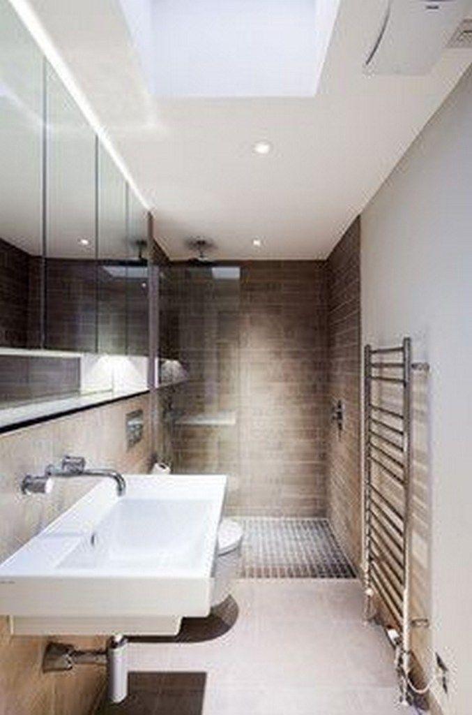 25+ Most Brilliant Long Narrow Bathroom Ideas Thatll Drop