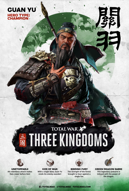 2019 的Total War: THREE KINGDOMS :: 组通知主题