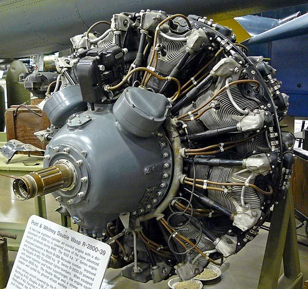 14 Pratt & Whitney R-2800 Double Wasp | engines | Aircraft ... on