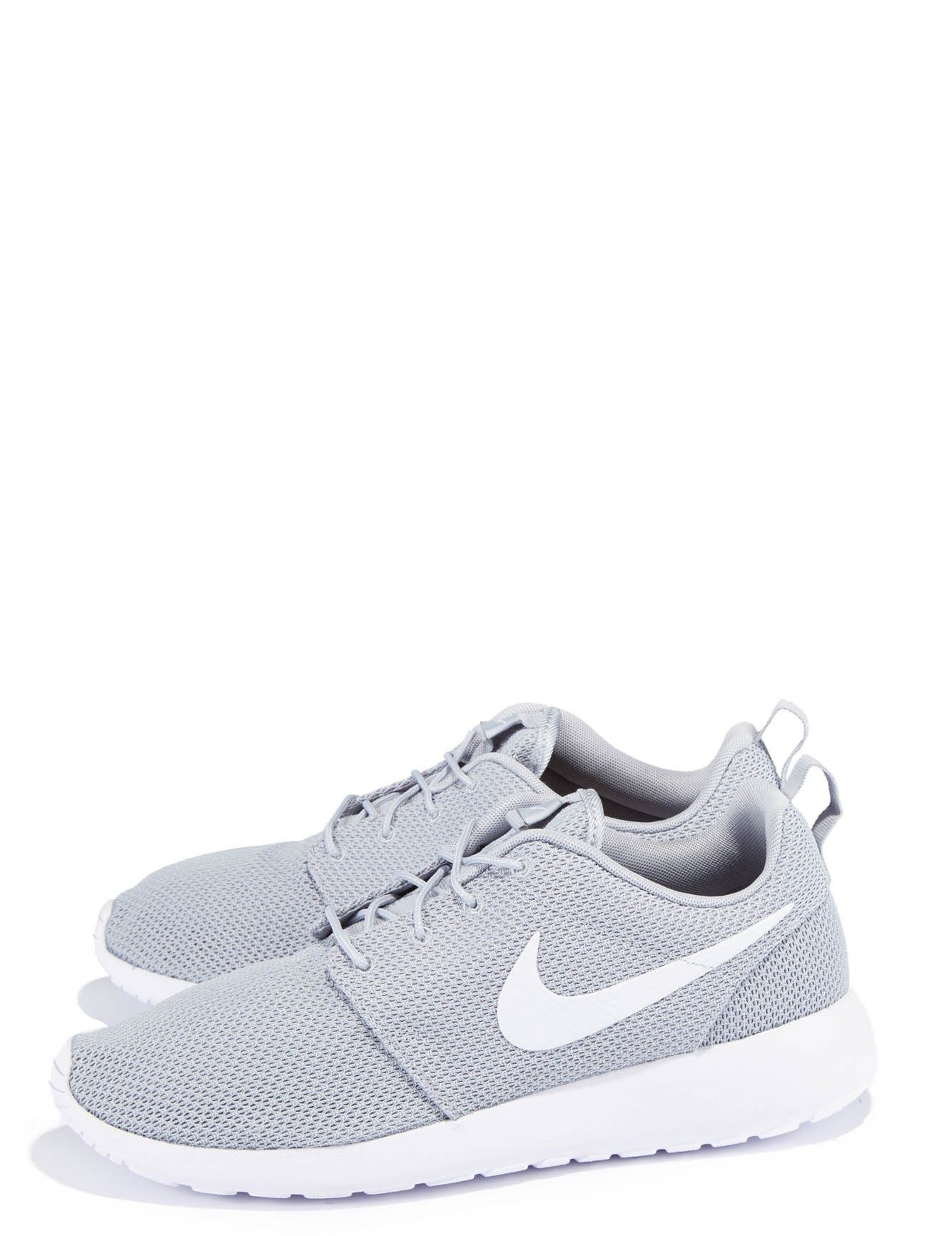 Nike Roshe Run Sneakers - Nike's Roshe Run sneaker is clean in design with its minimal features. Contrast front panels on front. Premium cushioning makes the shoe not only super comfortable but very lightweight.