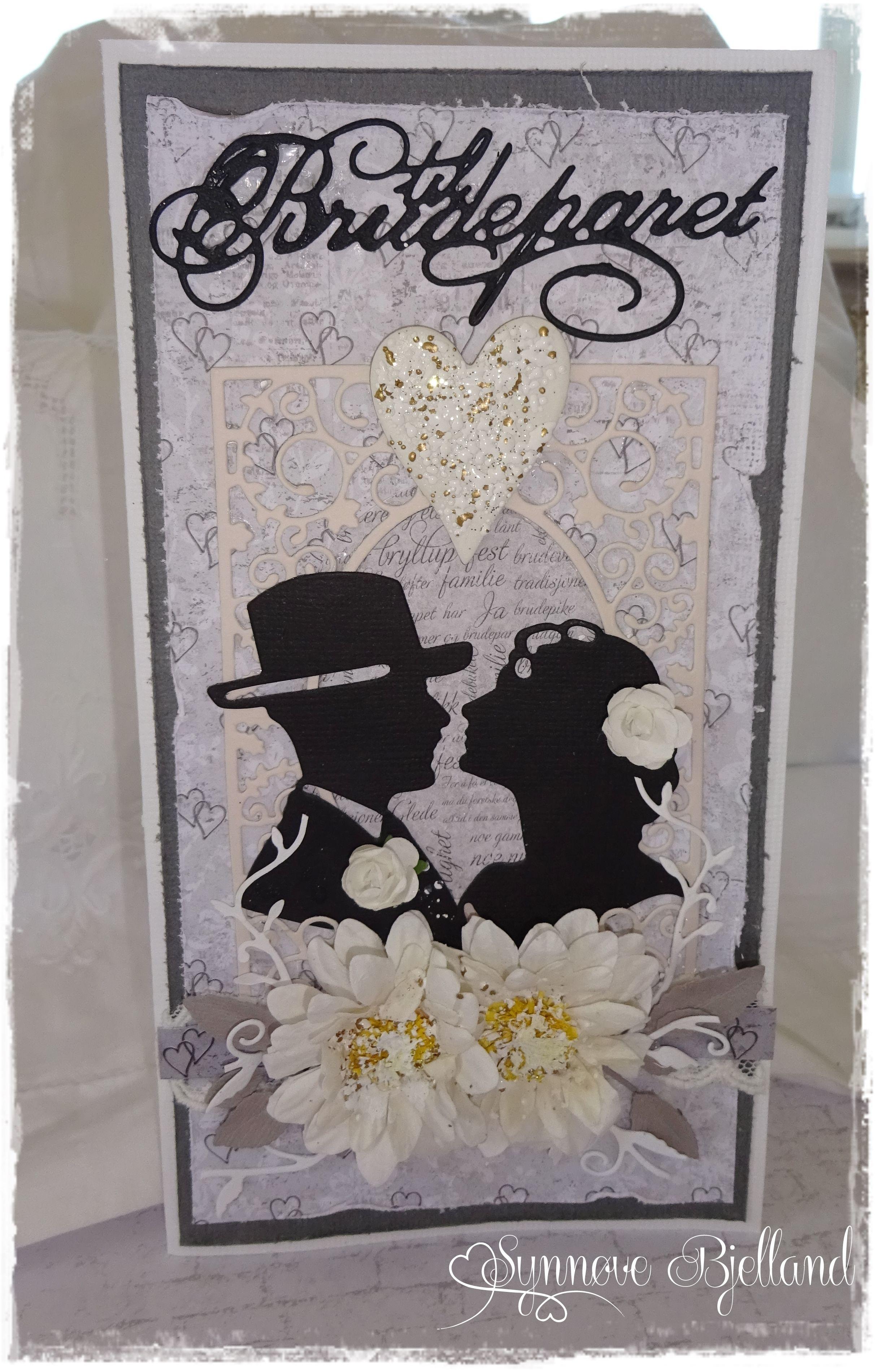 Bryllupskort - DT Papirdesign