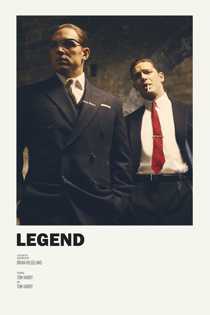 Do Not Use Or Reproduce Without Permission Legend Alternative Movie Poster Good Movie Not Really Good Performanc Tom Hardy Legend Tom Hardy Tom Hardy Images