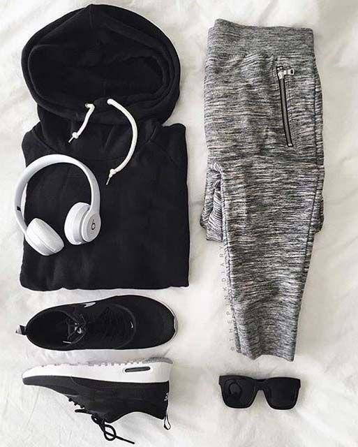 gym day // gym gear // fitness // mens health // travel // shoes // mens fashion // black //