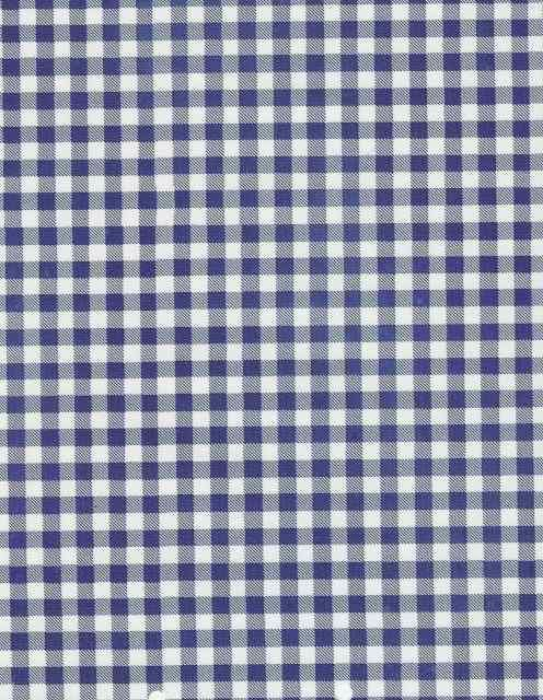 Gingham Vinyl Tablecloth Gingham Fabric Blue And White China