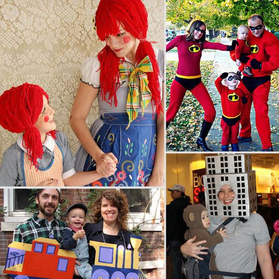 The Family That Dresses Up Together, Stays Together 18 Family - cute easy halloween costume ideas