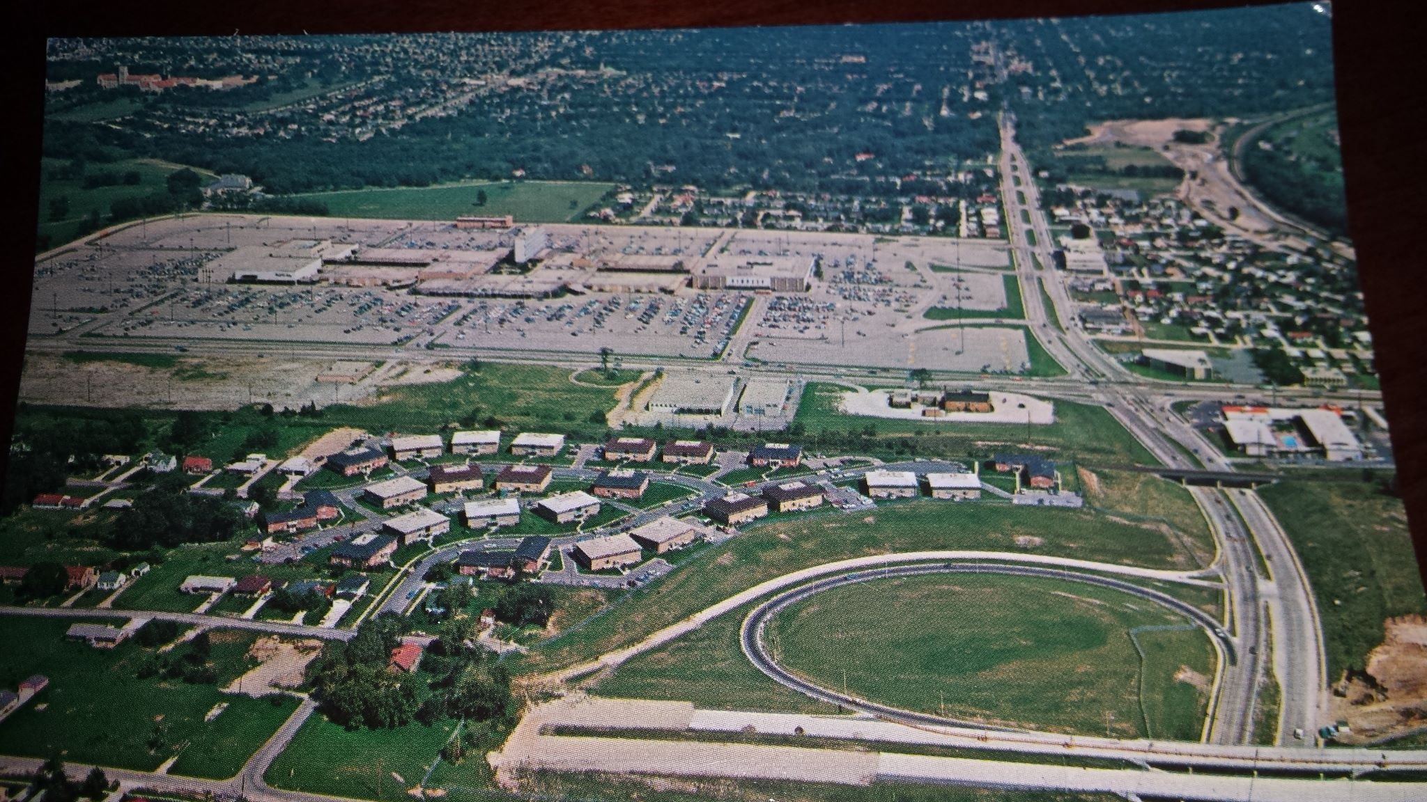 Aerial Shot Of Mayfair Mall Early 1970 S Milwaukee Wi