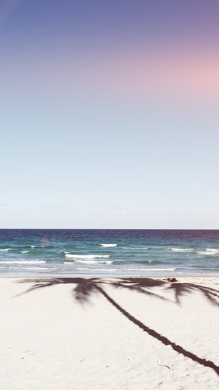 Blue Day Blur Gradation Beach Wallpaper Iphone Wallpaper Iphone