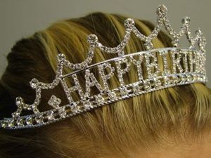 how about a happy birthday tiara?