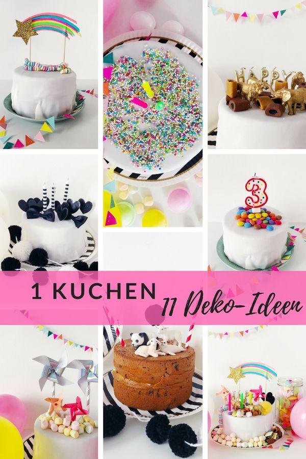 kuchen kindergeburtstag: 1 torte - 11 ideen   kuchen