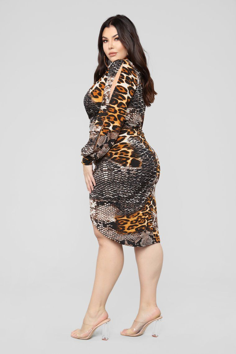 37180e8e9c90 Out In The Jungle Dress - Brown in 2019 | Adult Clothes | Dresses ...