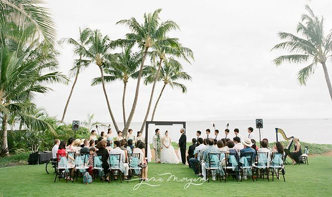 A Joyous Maui Wedding For Tomo And Masa