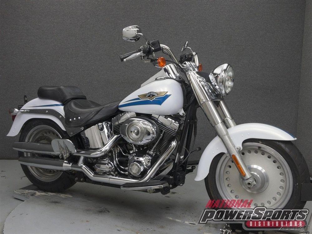 eBay: FLSTF FATBOY 2007 Harley-Davidson FLSTF FATBOY Used ...