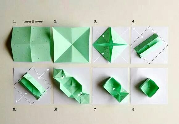 How to Fold a Traditional Origami Box - Masu Box | 403x580