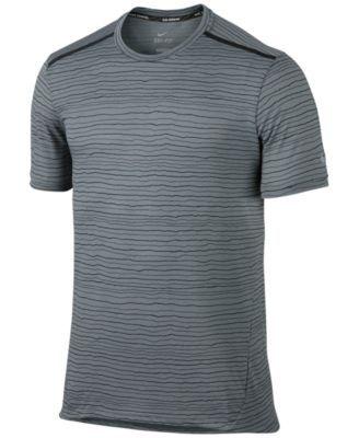 NIKE Nike Men'S Dri-Fit Cool Tailwind Printed Running T-Shirt. #nike #cloth # activewear