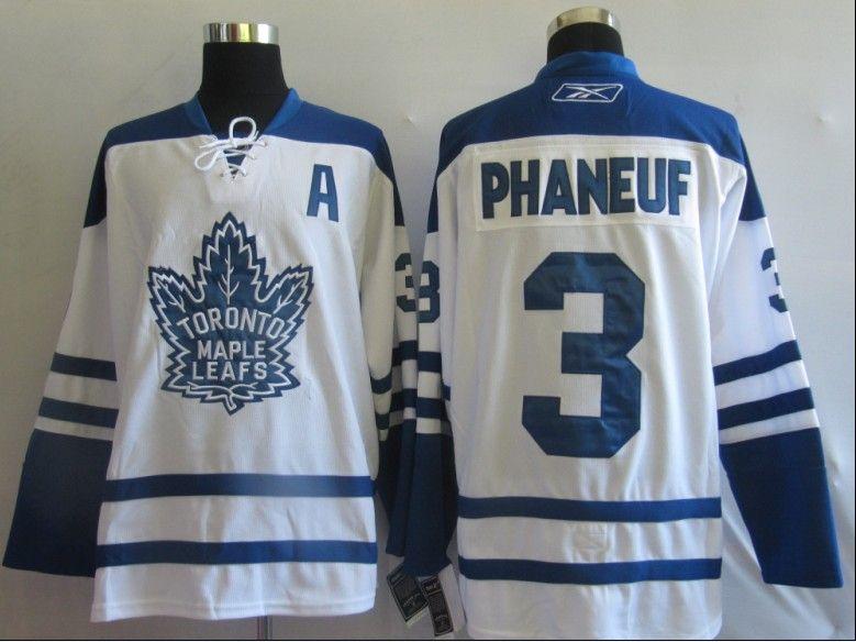 NHL Jerseys Toronto Maple Leafs Dion Phaneuf  3 White  501ff77c3