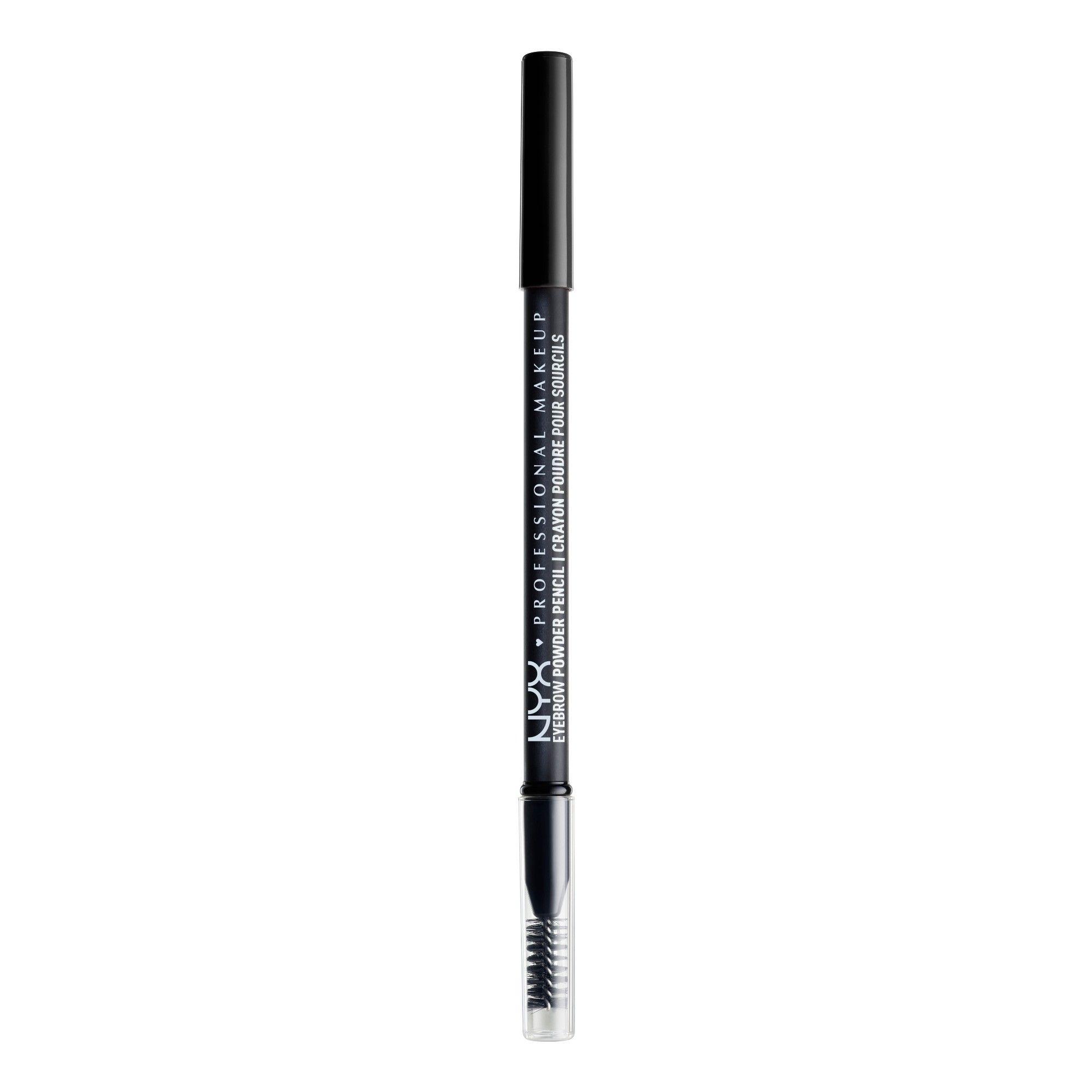 Nyx Professional Makeup Eyebrow Powder Pencil Black 0 05oz