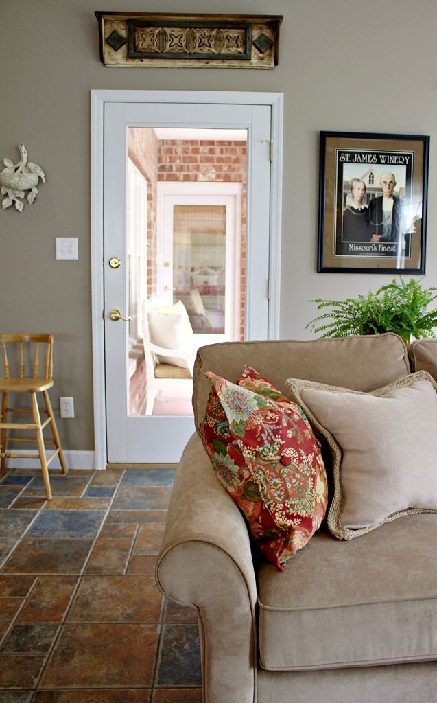 My Favorite Room.....Back Porch Musings   Room, Home ... on Apartment Back Porch Ideas id=51165