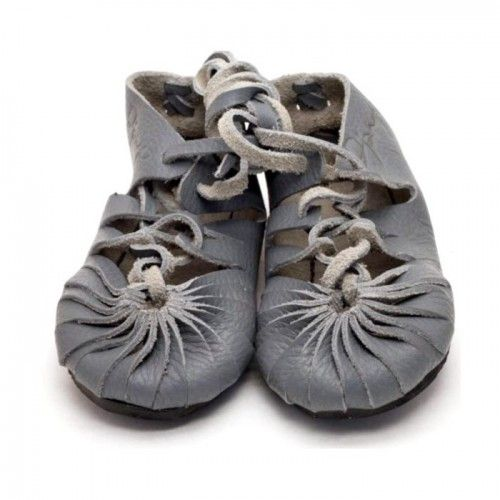 Eco Friendly Slippers: Eco Friendly Toddler Moccasins Grey // PoppysCloset.com (I