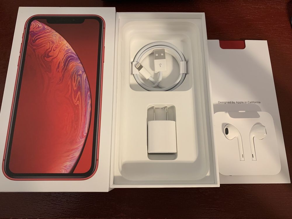 Apple Iphone Xr Product Red 128gb At T Iphone Xr