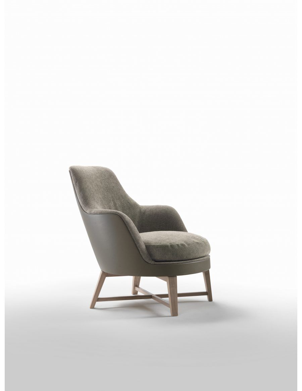 Flexform Guscia Soft Fauteuil | Van der Donk interieur | Armchairs ...