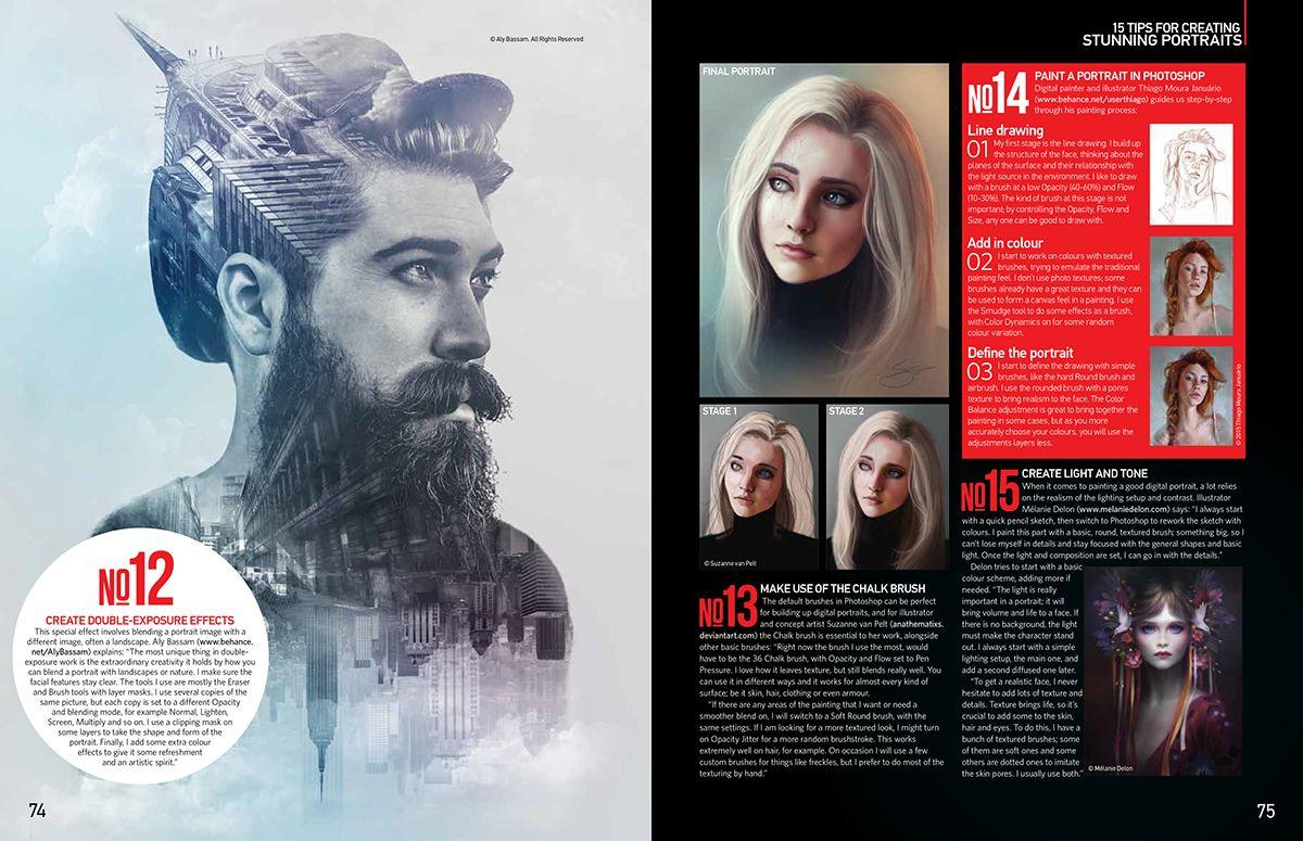 Photoshop Creative® Magazine Issue 134 on Behance