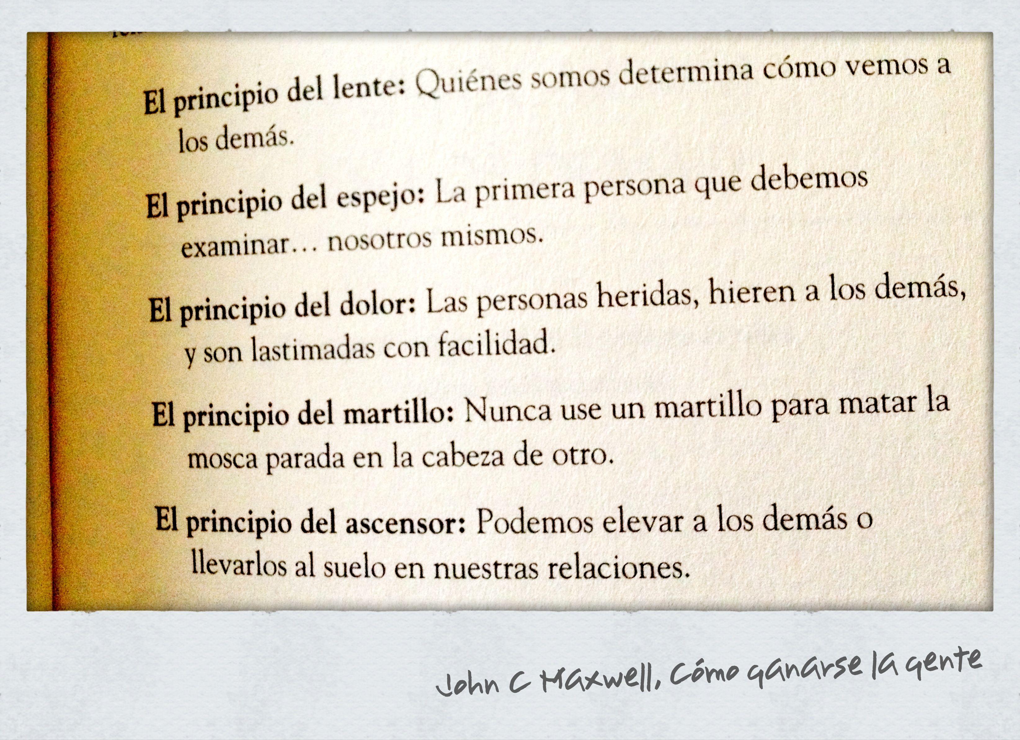 Frase Del Libro Cómo Ganarse La Gente Del Autor John C